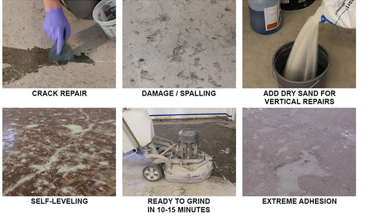 Concrete Repair Floor Coating Augusta