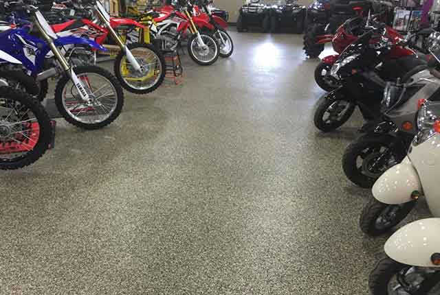 Showroom Floor Coatings Augusta