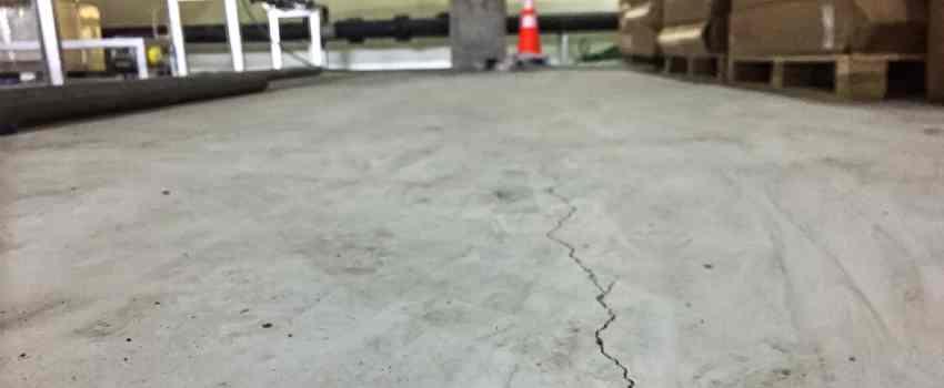 Cracked Concrete Floor