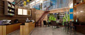 Concrete Commerical Kitchen Floor