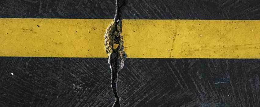 Crack in Cement Floor